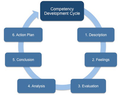 Competency development cycle