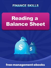 Balance sheet reading on tablets