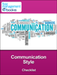 Communication Style Checklist