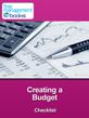 Creating a Budget Checklist