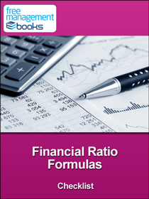 financial ratio formulas checklist