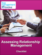 Assessing Relationship Management Checklist