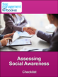 Assessing Social Awareness Checklist