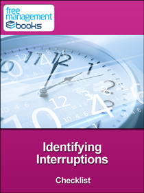 Identifying Interruptions Checklist