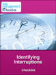 Identifying Interruptions