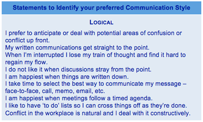 communication work styles We all have different communication styles think about your workplace there's the colleague who always pats you on the back, brimming with energy.