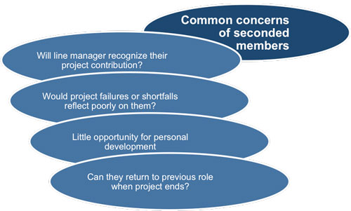 Concerns of project team members