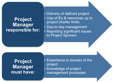 project manager responsibilities pmi