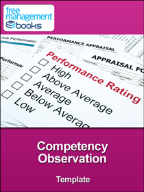 Competency Observation Template