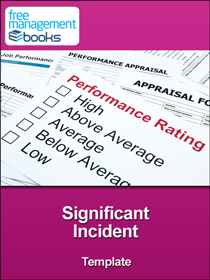 Significant Incident Template