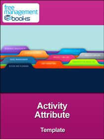 Activity Attribute Template
