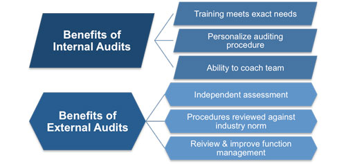Internal And External Audits  External Audit Report Template