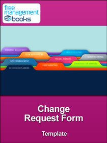 Change Request Form Template  Change Management Form Template