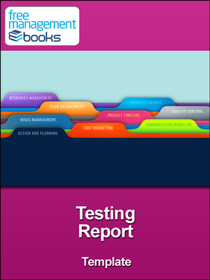 Project Testing Report Template