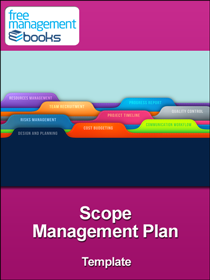 Scope management plan example pdf