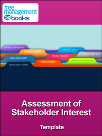 Stakeholder Interest Template