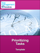 Free management templates for Prioritizing tasks template