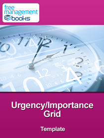 Urgency/Importance Grid Template