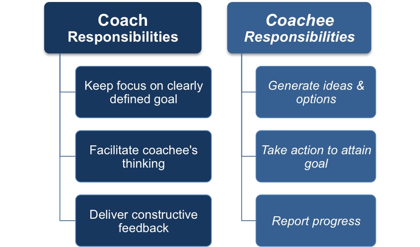 the roles and responsibilities of a workplace coach Indeed the workplace coaching strategy paper issued by wirral hospital nhs trust , discusses having qualified workplace coaches, but goes on to state that it is not using dedicated resources for this role.