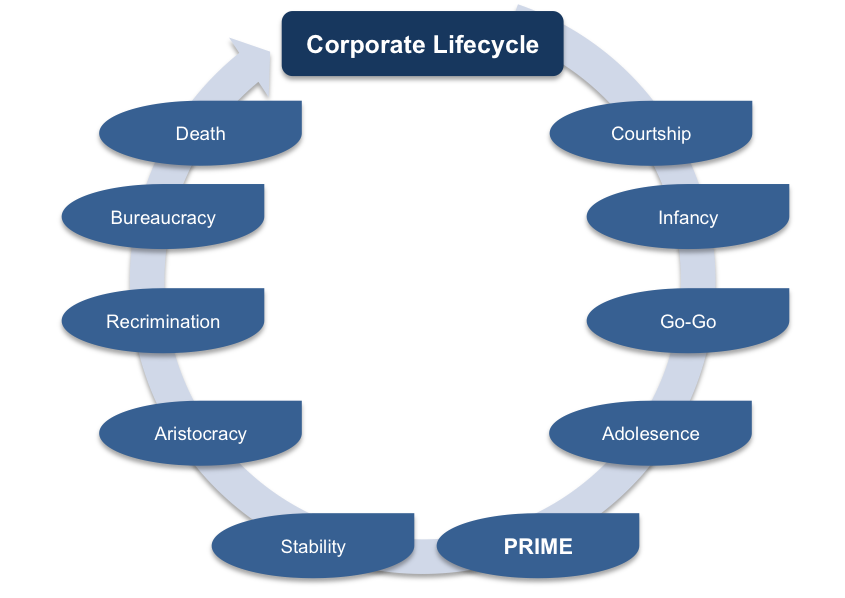 Adizes' Corporate Lifecycle