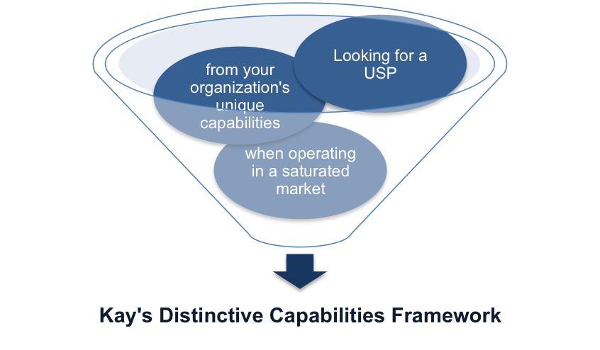Kay's Distinctive Capabilities Framework