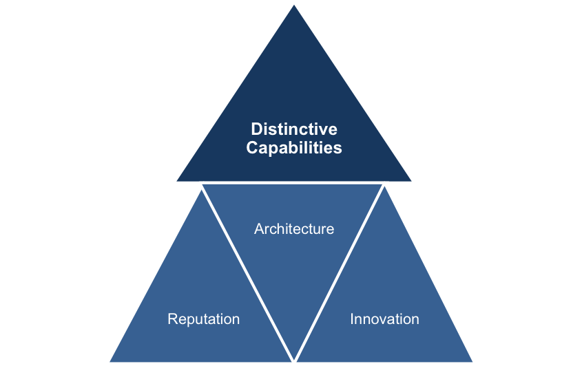 Three Distinctive Capabilities