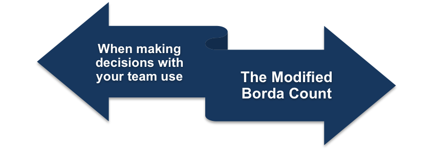 The Modified Borda Count
