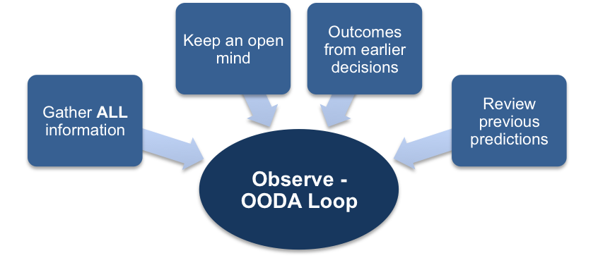 The Observe Stage