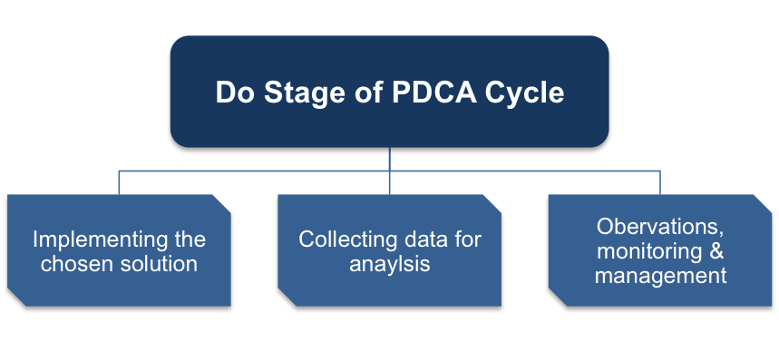 Do Stage of the Plan-Do-Check-Act Cycle